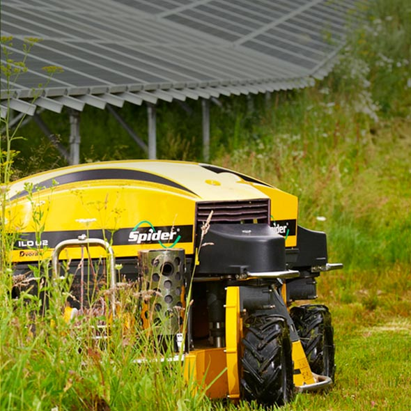 Spider slope mowers | slope-mower com