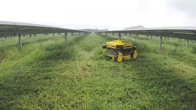 Application: Solar field maintenance, Australia