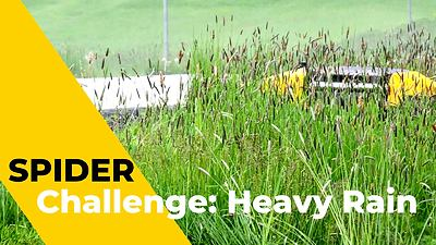 SPIDER CROSS LINER | Challenge: Heavy Rain