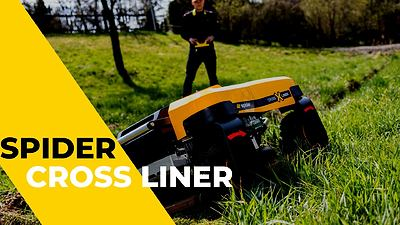 NEW | Remote-controlled mower | SPIDER CROSS LINER