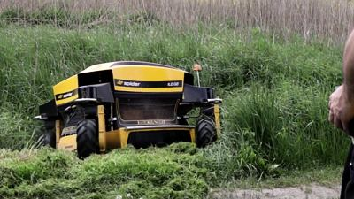 Extreme effectivity: SPIDER mower ILD02