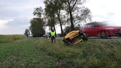 SPIDER mower: The safest way to maintain areas along roads and highways