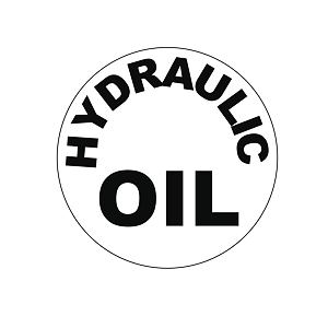 Label - hydraulic oil